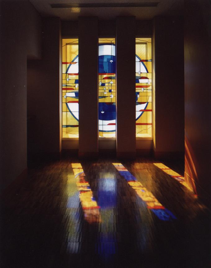 高崎市山種美術館エレベーターホール01